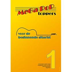 Mega Pop Toppers 1 voor de beginnende gitarist