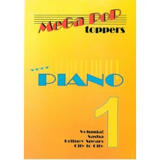 Mega Pop Toppers voor piano 1
