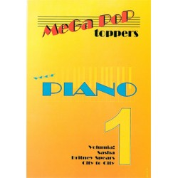 Mega Pop Toppers voor piano 1
